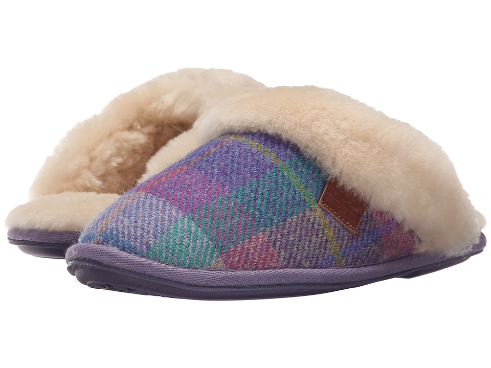 Bedroom Athletics - Kate Harris Tweed (Liliac/Blue Check 2) Women's Slippers