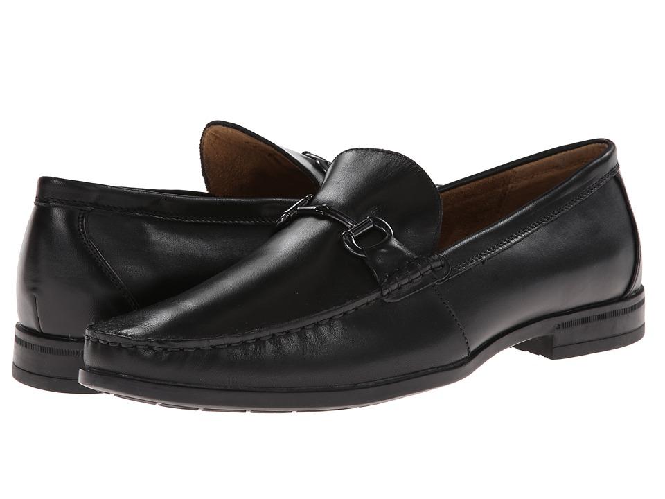 Nunn Bush - Glendale Bit Slip-On Dress Casual (Black) Men's Slip-on Dress Shoes