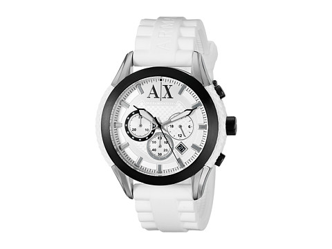 AX Armani Exchange - Coronado (White 2) Watches