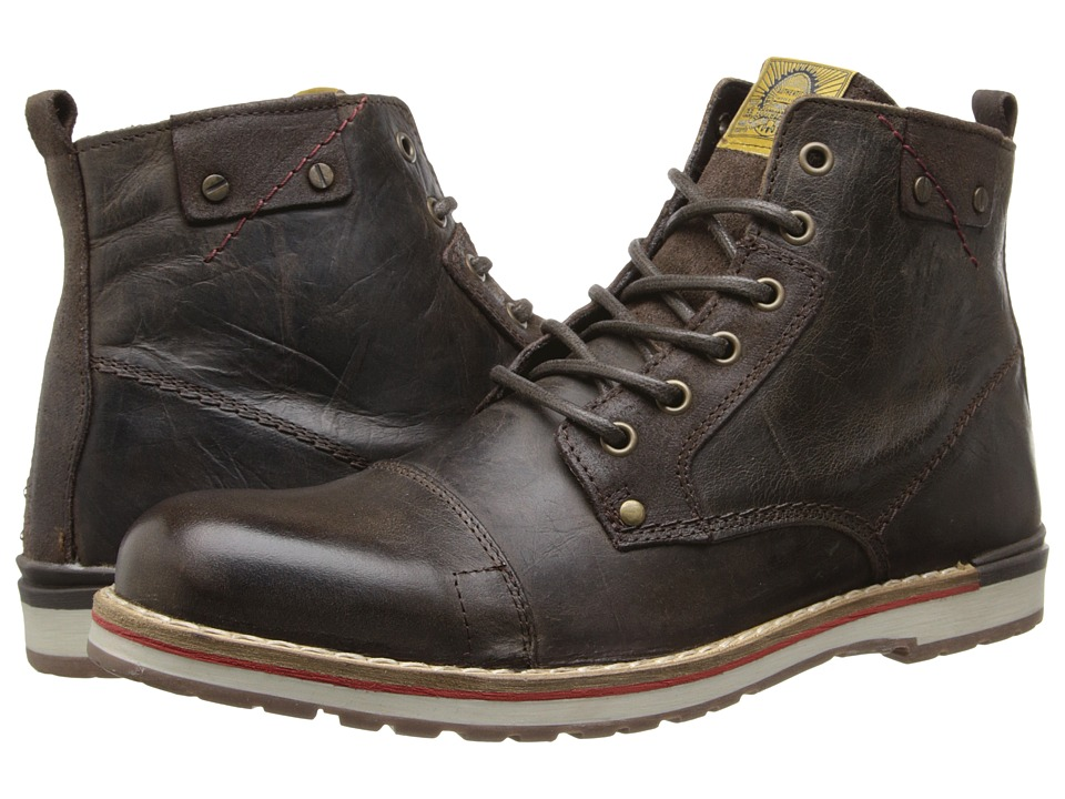 Type Z - Maltby (Brown Leather) Men's Lace-up Boots