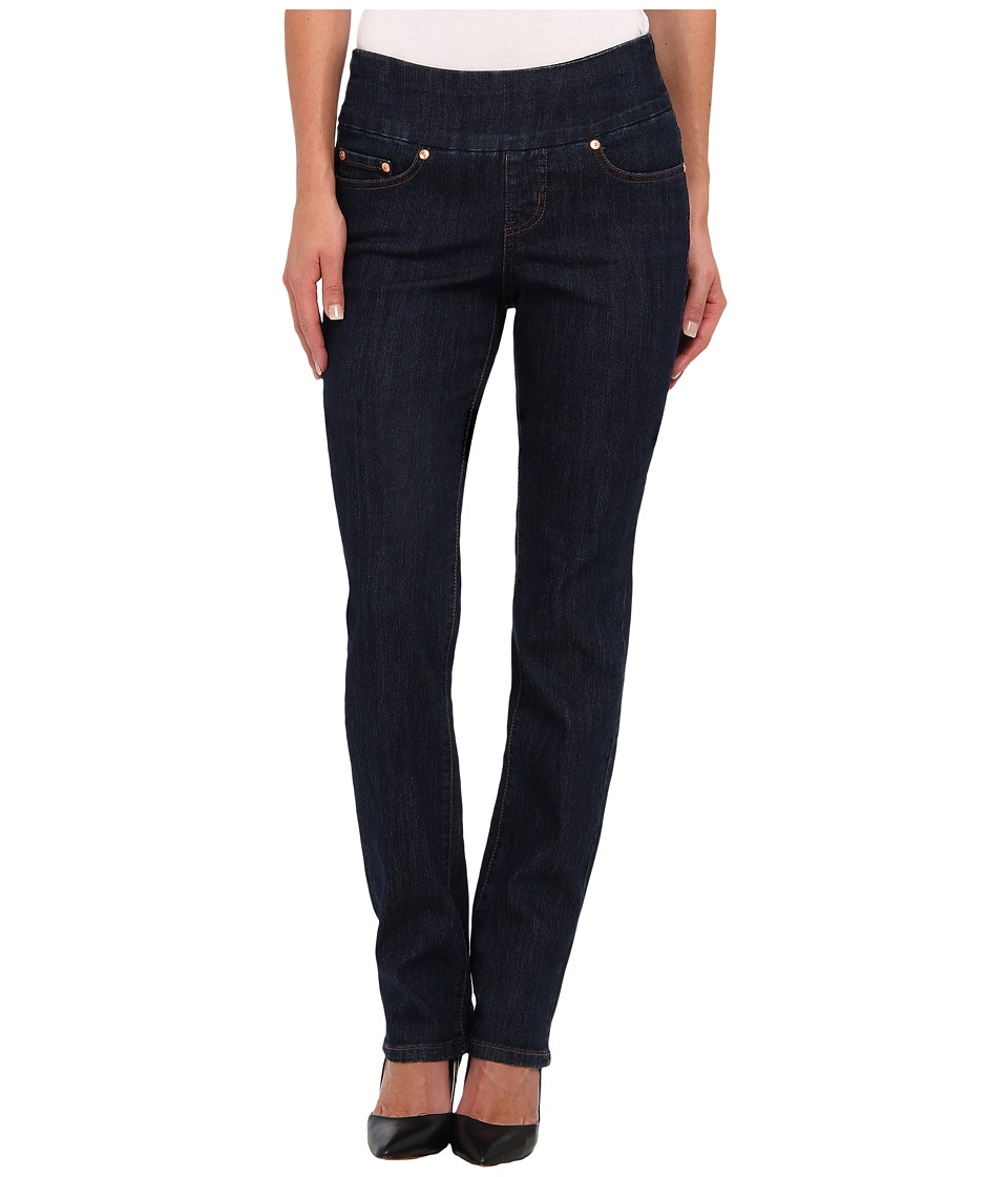 Jag Jeans - Peri Pull-On Straight in Dark Shadow (Dark Shadow) Women's Jeans