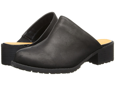 Type Z - Grise (Black Leather) Women's Shoes