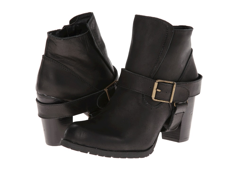 Type Z - Edword (Black Leather) Women