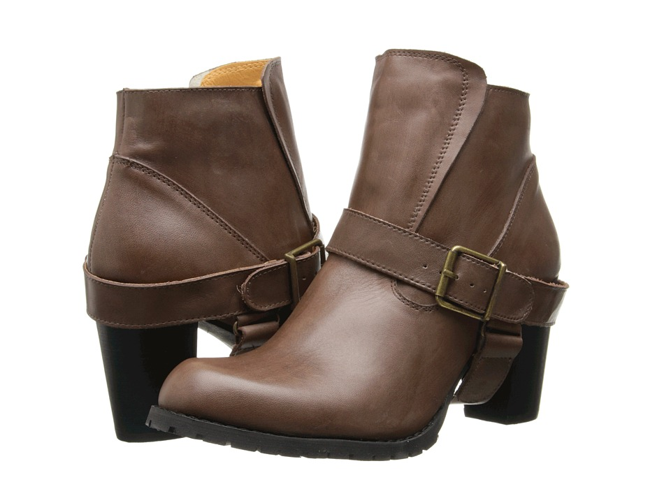 Type Z - Edword (Brown Leather) Women