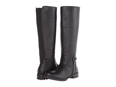 Type Z - Araceli (Black Leather) Women's Zip Boots