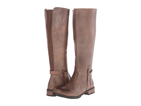 Type Z - Araceli (Brown Leather) Women's Zip Boots