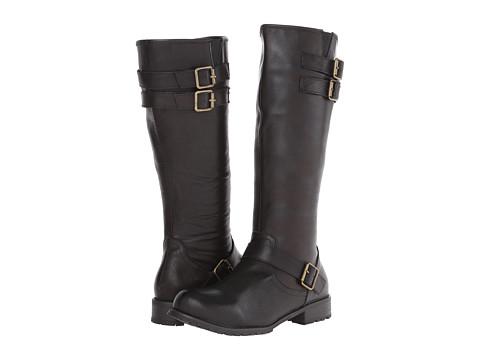 Type Z - Esme (Black Leather) Women's Zip Boots