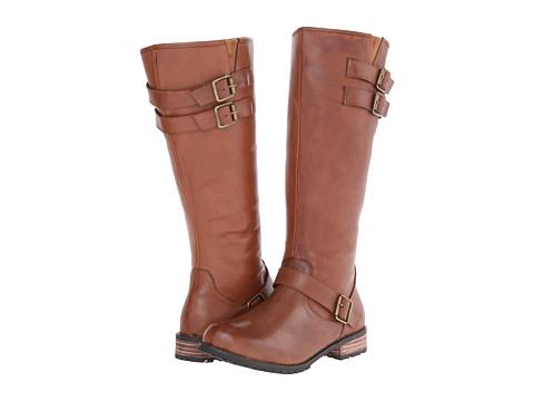 Type Z - Esme (Tan Leather) Women's Zip Boots