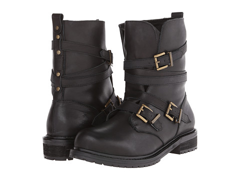 Type Z - Jasper (Black Leather) Women's Pull-on Boots