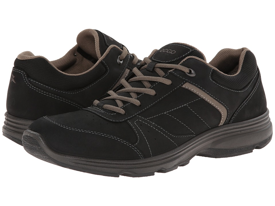 ECCO Sport - Light IV (Black/Black) Men's Walking Shoes