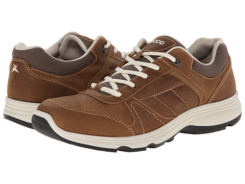 ECCO Sport - Light IV (Camel/Camel) Men's Walking Shoes