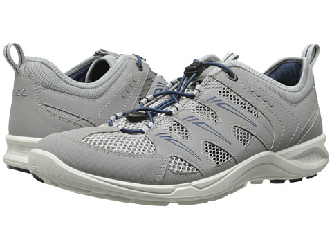 ECCO Sport - Terracruise Lite (Silver Grey/Dark Shadow/Denim Blue) Men's Running Shoes