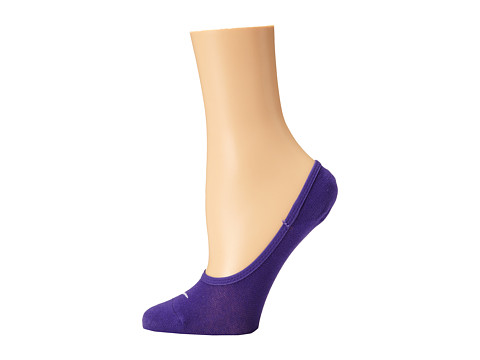 Nike - Studio Lightweight Footie (Court Purple/White) Women's No Show Socks Shoes
