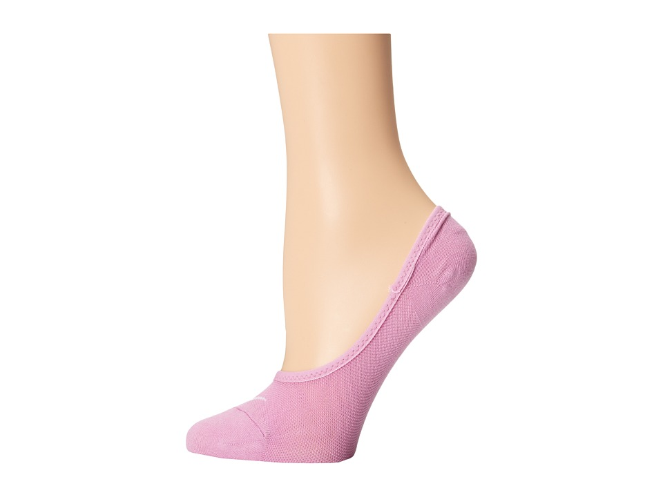 Nike - Studio Lightweight Footie (Light Magenta/White) Women's No Show Socks Shoes