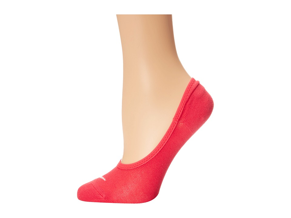 Nike - Studio Lightweight Footie (Action Red/White) Women's No Show Socks Shoes