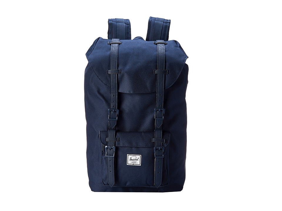 Herschel Supply Co. - Little America Mid-Volume (Navy/Navy) Backpack Bags
