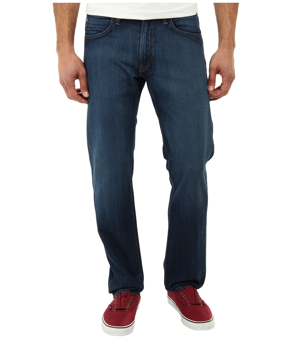 Agave Denim - Gringo Sand Spit Supima Med in Med Blue (Med Blue) Men's Jeans