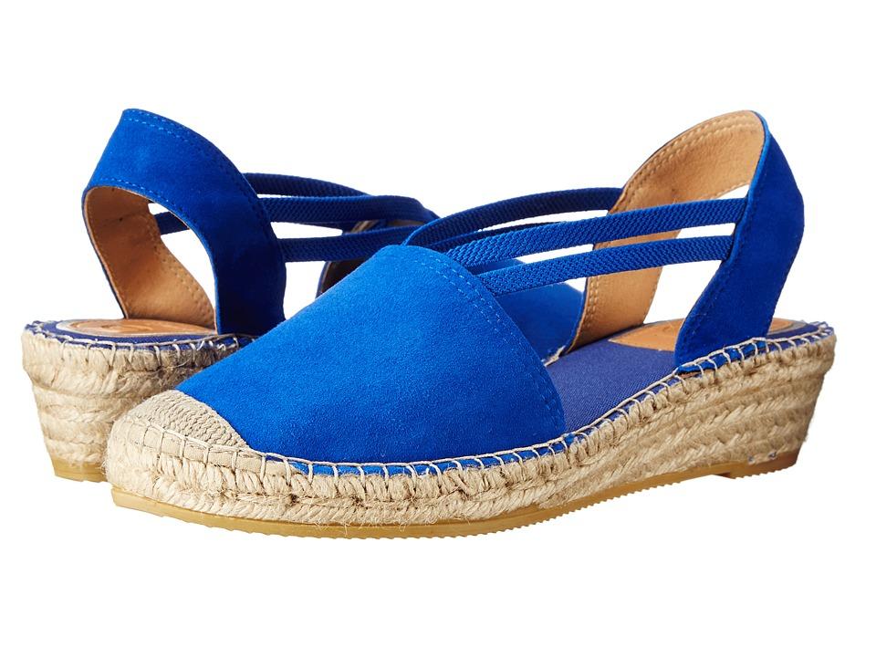 Vidorreta - Jade (Blue Ante Francia) Women's Wedge Shoes