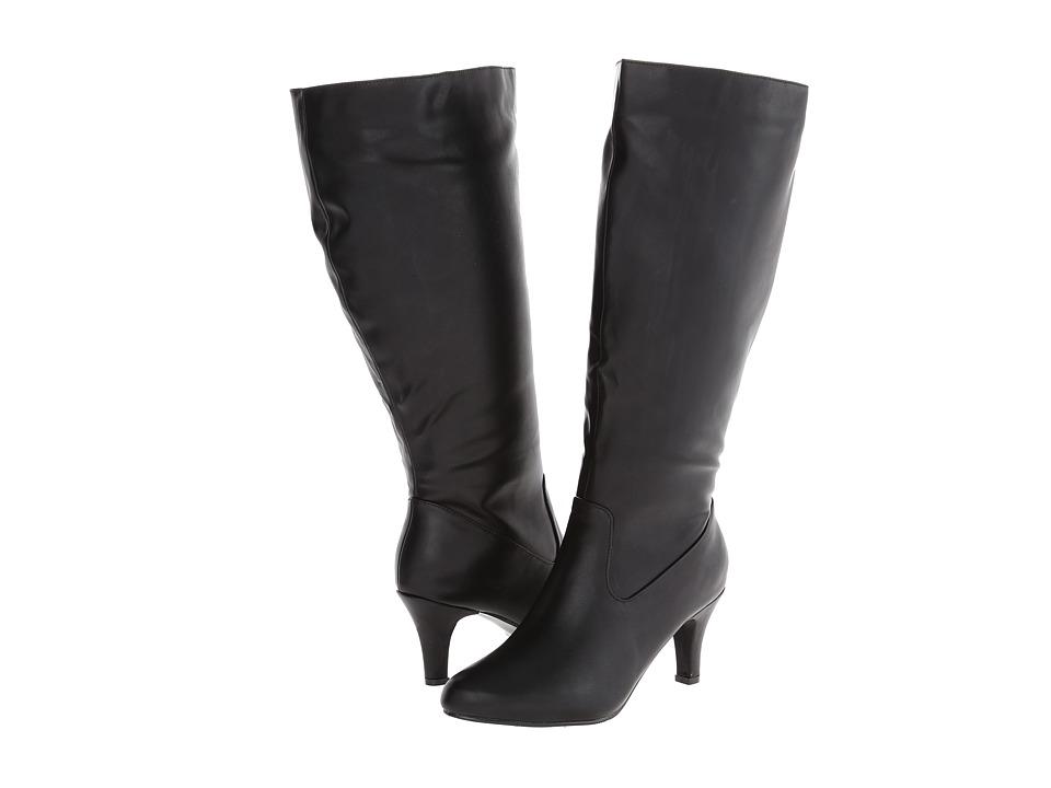 Annie - Rana Extra Wide Calf (Black) Women's Shoes