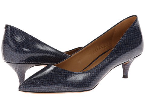 Nine West - Illumie (Navy Multi Synthetic) Women's 1-2 inch heel Shoes