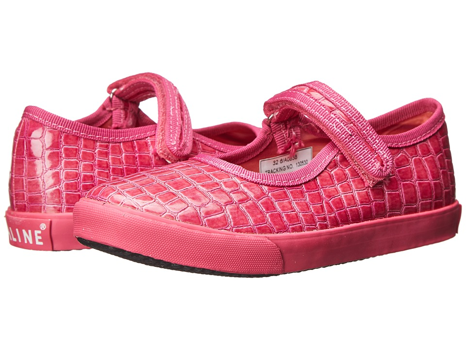 Amiana - 6-A0838 (Toddler/Little Kid/Big Kid) (Fuchsia Patent Croco) Girls Shoes