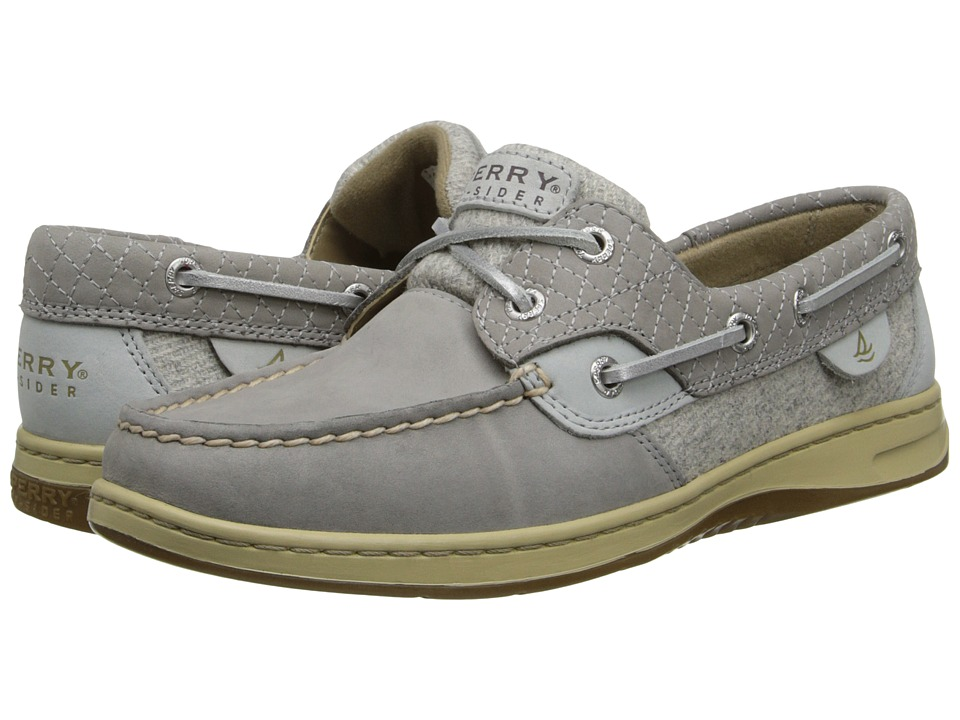 Sperry Top-Sider - Bluefish 2-Eye (Charcoal Quilted Collar) Women's Slip on Shoes