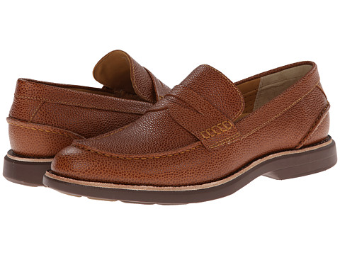 Sperry Top-Sider - Gold Bellingham Penny w/ ASV (Tan 1) Men's Slip on Shoes