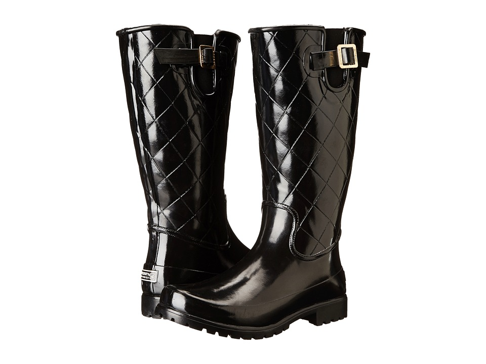 Sperry - Pelican III (Black Quilted) Women's Rain Boots