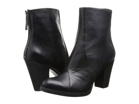 Nine West - Charnel (Black Leather) Women's Boots