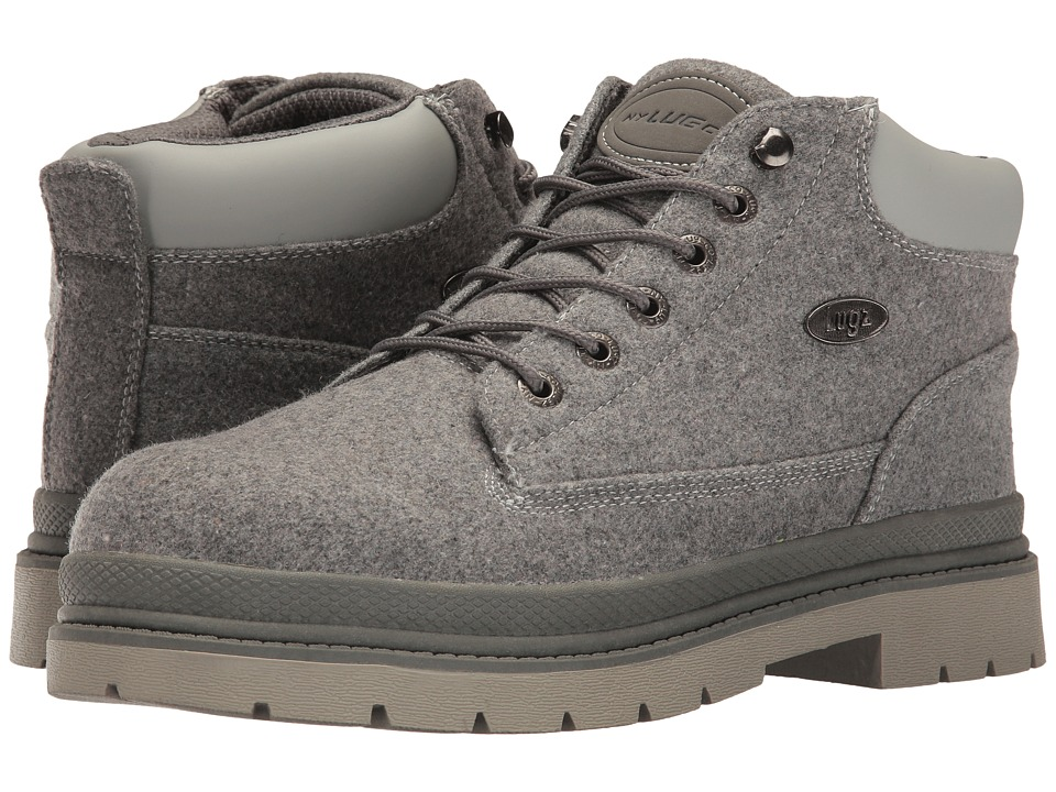 Lugz - Drifter Peacoat (Charcoal/Grey) Men's Lace up casual Shoes