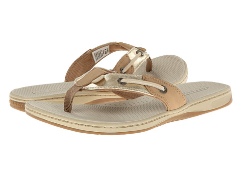 Sperry Top-Sider - Seafish (Linen/Gold Metallic Coated) Women
