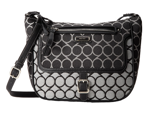 Nine West - Anaway Cross Body Mz (Black Multi) Cross Body Handbags