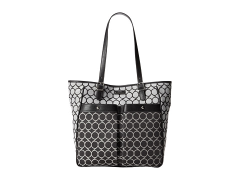 Nine West - Anaway Tote Large (Black Multi) Tote Handbags