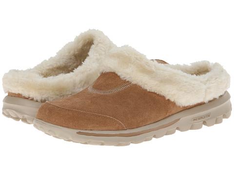 SKECHERS Performance - Go Walk (Chestnut) Women's Slip on Shoes