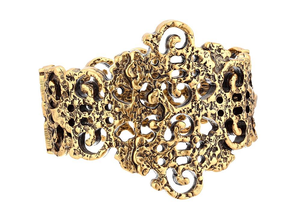 Oscar de la Renta - Lace Bracelet (Russian Gold) Bracelet