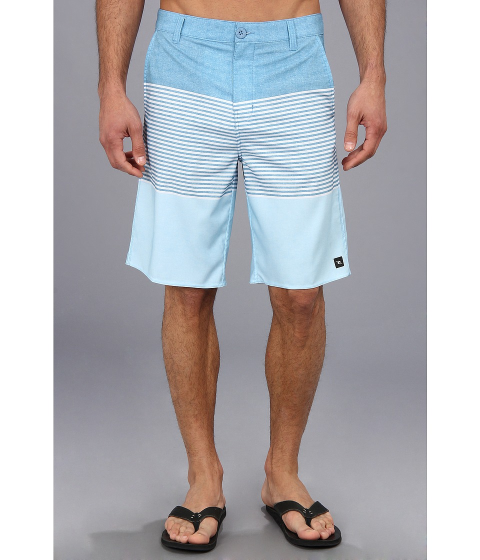 Rip Curl Right Stripe Boardwalk Mens Swimwear (Blue)