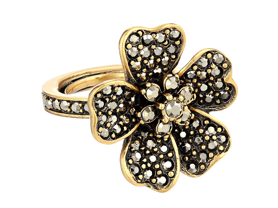 Oscar de la Renta - Flower Ring (Multi Metallic) Ring