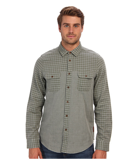 Ben Sherman - Mix N Match Double (Four Leaf CL) Men's Long Sleeve Button Up