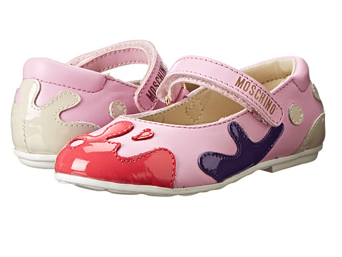 Moschino - 25511 (Toddler/Little Kid) (Pink Multi) Women's Maryjane Shoes