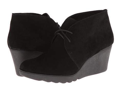 Donald J Pliner - Maka (Black Suede) Women's Wedge Shoes