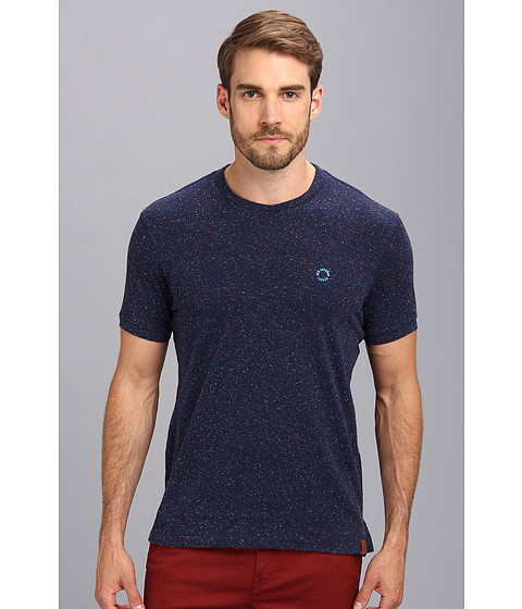 Ben Sherman - Napped Tee (Washed Blue) Men's Short Sleeve Pullover