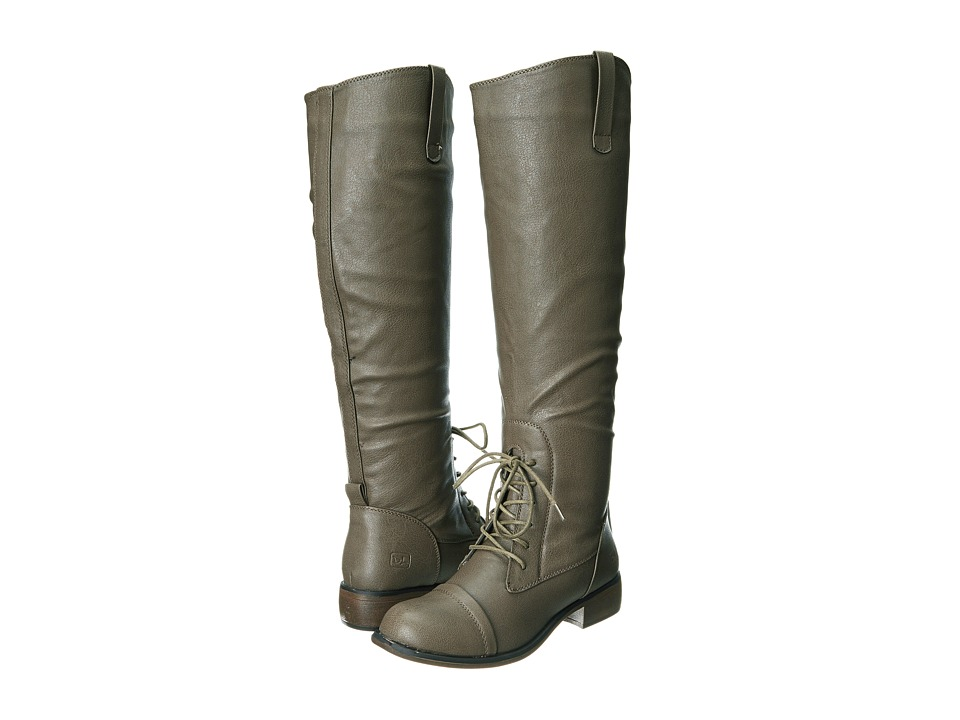Dirty Laundry - Camp Fire Grainy (Grey) Women's Lace-up Boots