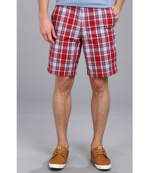 Ben Sherman - Stripe Tailor Short (Dawn Red) Men's Shorts