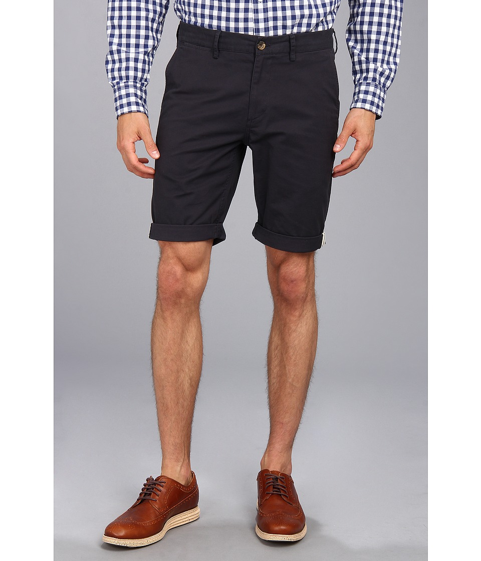 Ben Sherman - Stretch Slim Short (Dark Navy) Men's Shorts