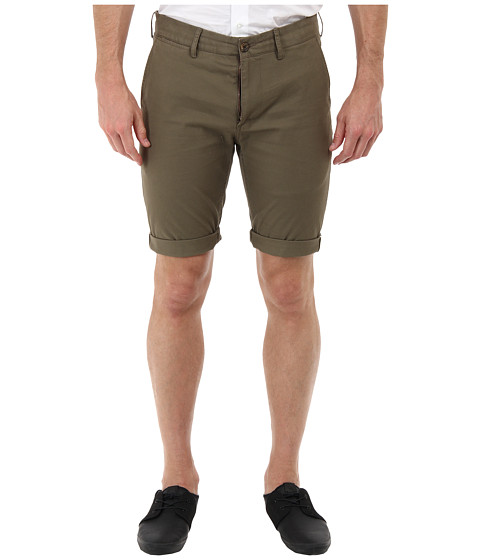 Ben Sherman - Stretch Slim Short (Morel) Men's Shorts