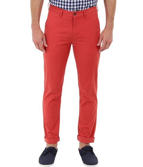 Ben Sherman - Slim Stretch Chino (Cranberry) Men's Casual Pants