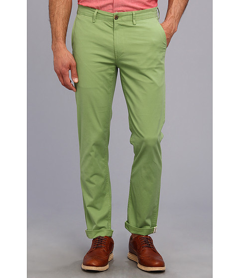 Ben Sherman - Slim Stretch Chino (Jade Green) Men's Casual Pants
