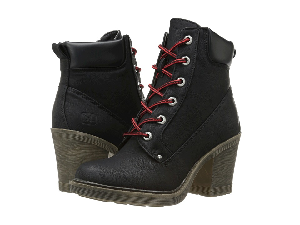 Dirty Laundry - Remix (Black) Women's Lace-up Boots