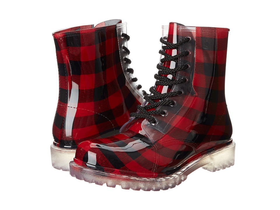 Dirty Laundry - Roadie (Red) Women's Lace-up Boots
