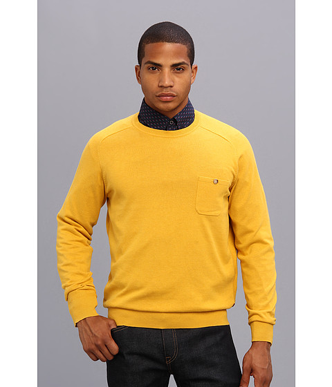 Ben Sherman - The Crew Neck (Lemon Marl) Men